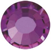 Mode Beads Preciosa Crystal Flatback Beads, Purple Amethyst, 10 Gross Package