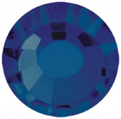 Mode Beads Preciosa Crystal Flatback Beads, Blue Montana, 10 Gross Package