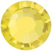 Mode Beads Preciosa Crystal Flatback Beads, Citrine Orange, 10 Gross Package