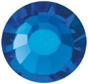 Mode Beads Preciosa Crystal Flatback Beads, Blue Capri, 10 Gross Package
