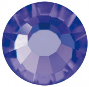 Mode Beads Preciosa Crystal Flatback Beads, Deep Tanzanite Purple, 10 Gross Package