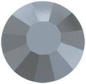 Mode Beads Preciosa Crystal Flatback Beads, Hematite Grey, 10 Gross Package