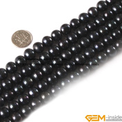 Gem-Inside 10-11mm Brown Colour Freshwater Pearl Beads Strand 15 Inches