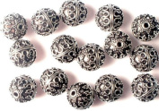 Sterling Beads(Price Per Four Pieces) - Sterling Silver