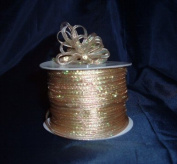 Organza Pull Ribbon Bows - 0.3cm - 100 Yards - Gold