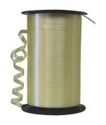 Partyland Pastel Yellow Ribbon - 6 rolls - 0.5cm x 500 yards long