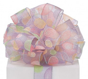 #40 Sheer Lavender Easter Egg Ribbon