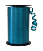 Partyland Teal Ribbon - 6 rolls - 0.5cm x 500 yards long