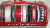 Set of 10 Specialty Ribbons
