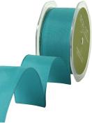May Arts 3.8cm Wide Ribbon, Dark Teal Solid
