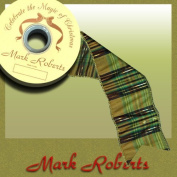 Mark Roberts Ribbons 44-88164-GRN Tartan Ribbon