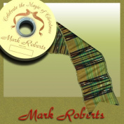 Mark Roberts Ribbons 44-88164-GRN Tartan Ribbon