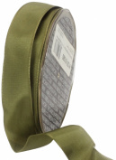Ampelco Ribbon Company French Wired 27-Yard Taffeta Ribbon, 2.5cm , Soft Pine