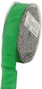 Ampelco Ribbon Company French Wired 27-Yard Taffeta Ribbon, 2.5cm , Emerald Green
