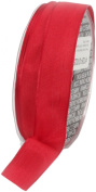 Ampelco Ribbon Company French Wired 27-Yard Taffeta Ribbon, 2.5cm , Red