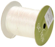 May Arts Ribbon, Iridescent White String