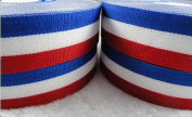 25y Polyester Striped Ribbon Craft / Wedding / Sewing