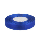 "OurWarm Royal Blue 5/8"" (15mm) Sheer Organza Ribbon for Birthday Party/Craft/Wedding Favours Scrapbooking Decor 50yard"