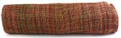 Kel-Toy Mixed Colour Jute Burlap Ribbon Roll, 46cm by 10-Yard, Rose Pink/Burgundy/Gold/Green
