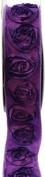 Kel-Toy Dimensional Rose Ribbon, 3.8cm by 10-Yard, 2-Tone Purple/Violet