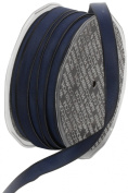 Ampelco Ribbon Company French Wired 54-Yard Taffeta Ribbon, 1cm , Navy Blue