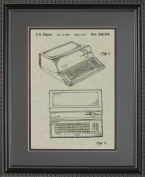 Apple Computer Patent Art Wall Hanging 11x14 | Computer Programmer Gift