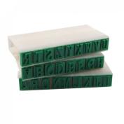 Amico 1cm Length Letters Detachable 26 English Alphabet Stamp Set