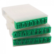 Amico Detachable 26-Letters English Alphabet Plastic Stamp Set