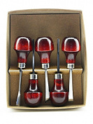 U J Ramelson No. 107 Wood Carving Tools set of 5