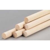 Wood Dowel 0.8cm x 30cm (12)