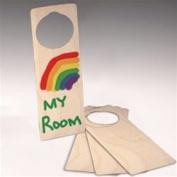 Wood Door Hangers (3)