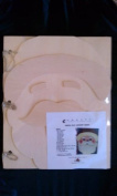 Santa Face Memory Book - Wooden