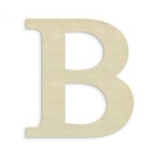 UNFINISHEDWOODCO Oversized Unfinished Wood Letter, 46cm , Beta