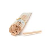 Midwest Products 4066 Micro-Cut Quality Basswood Strip Bundle, 0.25 x 0.6cm x 60cm