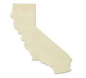 "UNFINISHEDWOODCO Unfinished State Wood Cutouts, ""California"""