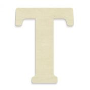 UNFINISHEDWOODCO 60cm Unfinished Wood Letter, Large, Letter T