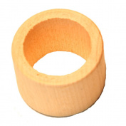 26 - Napkin Ring Smooth - 1-5/8 unfinished wood