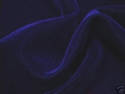 Navy Blue Velvet Fabric 110cm By the Yard