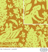 Cameo Folly Butterscotch Pwab092 1/2 Yard 110cm Wide By Amy Butler