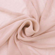 Blush Solid Hi-Multi Chiffon Washed