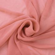 Rosebud Solid Hi-Multi Chiffon Washed