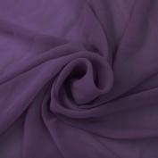 Lilac Runway Solid Hi-Multi Chiffon Washed