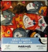 Cat Craft Fabric