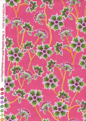 Blank Quilting Duquesa II Large Floral BTR-5393 Fuchsia Quilt Fabric 100% Cotton 110cm Wide - HALF YARD