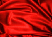 Red Dull Bridal Satin Fabric 150cm By the Yard