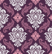True Colours - Damask - Violet By Joel Dewberry for FreeSpirit Half Yard