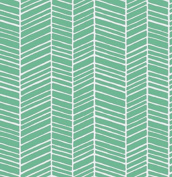 True Colours - Herringbone - Turquoise By Joel Dewberry for FreeSpirit Half Yard