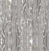 True Colours - Woodgrain - Grey By Joel Dewberry for FreeSpirit Half Yard