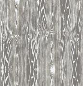 True Colours - Woodgrain - Grey By Joel Dewberry for FreeSpirit Half Yard