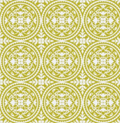 True Colours - Scrollwork - Green By Joel Dewberry for FreeSpirit Half Yard